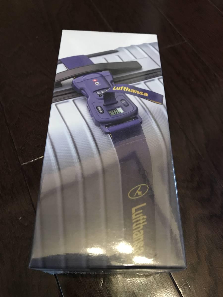 515597cb2e 新品】ルフトハンザ スーツケースベルトTSA 計量機能&ロック付 新品 未 ...