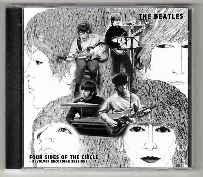 新品】THE BEATLES - REVOLVER SESSIONS : FOUR SIDES OF THE