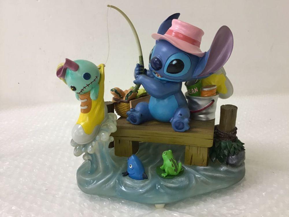 Disney スティッチスクランプ フィギュア フィッシング ディズニー