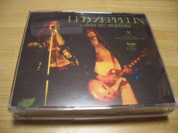 CD LED ZEPPELIN/DEUS EX MACHINA EMPRESS VALLEY SEATTLE 75 3 21 sbd