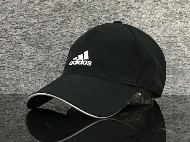 adidas 新品未使用 adidas アディダスキャップ 黒 スポーツ