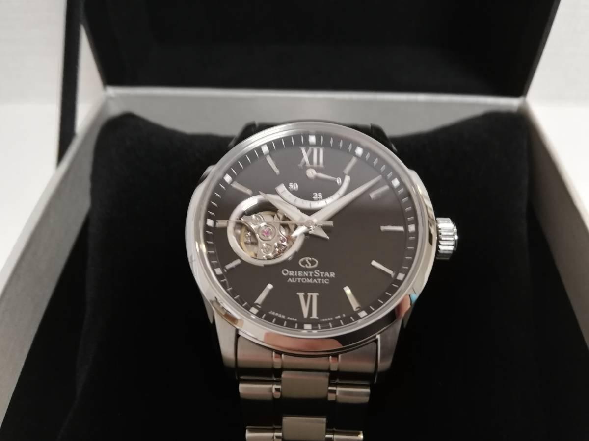 9c31375f0941 Orient Star オリエントスター コンテンポラリー セミスケルトン RK-AT0001B 黒文字盤 腕時計 自動巻きの. 27,700円