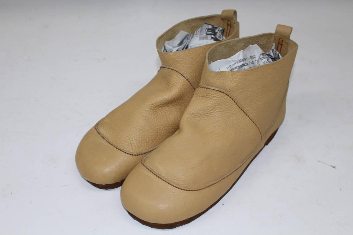 4285f359f3bd ... レザー 本革 ベルト 37 ... 【送無】 003615 KOOS コース レディース ブーツ ショート 靴 シューズ ハンドクラフト 40  ベージュ