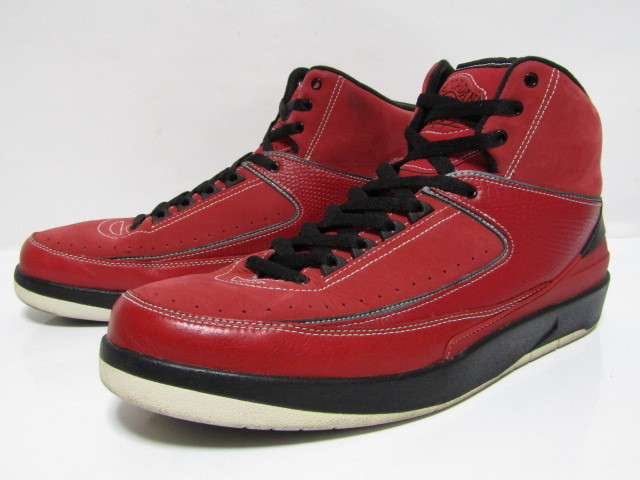 check out b3f85 58946 1円スタート 10年製 NIKE AIR JORDAN 2 RETRO CANDY PACK RED OG 395709