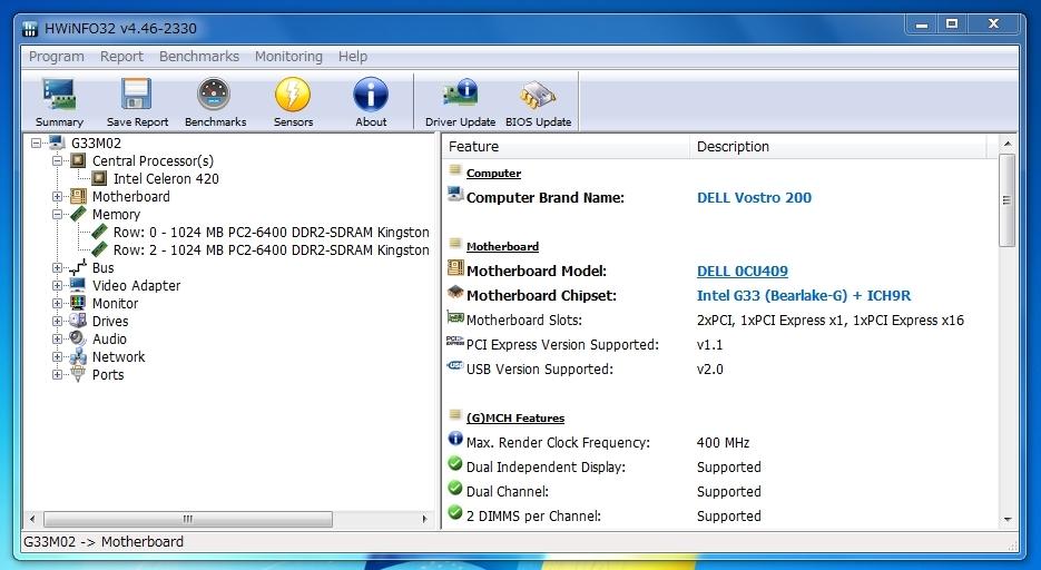 dell vostro 260s drivers for windows server 2003