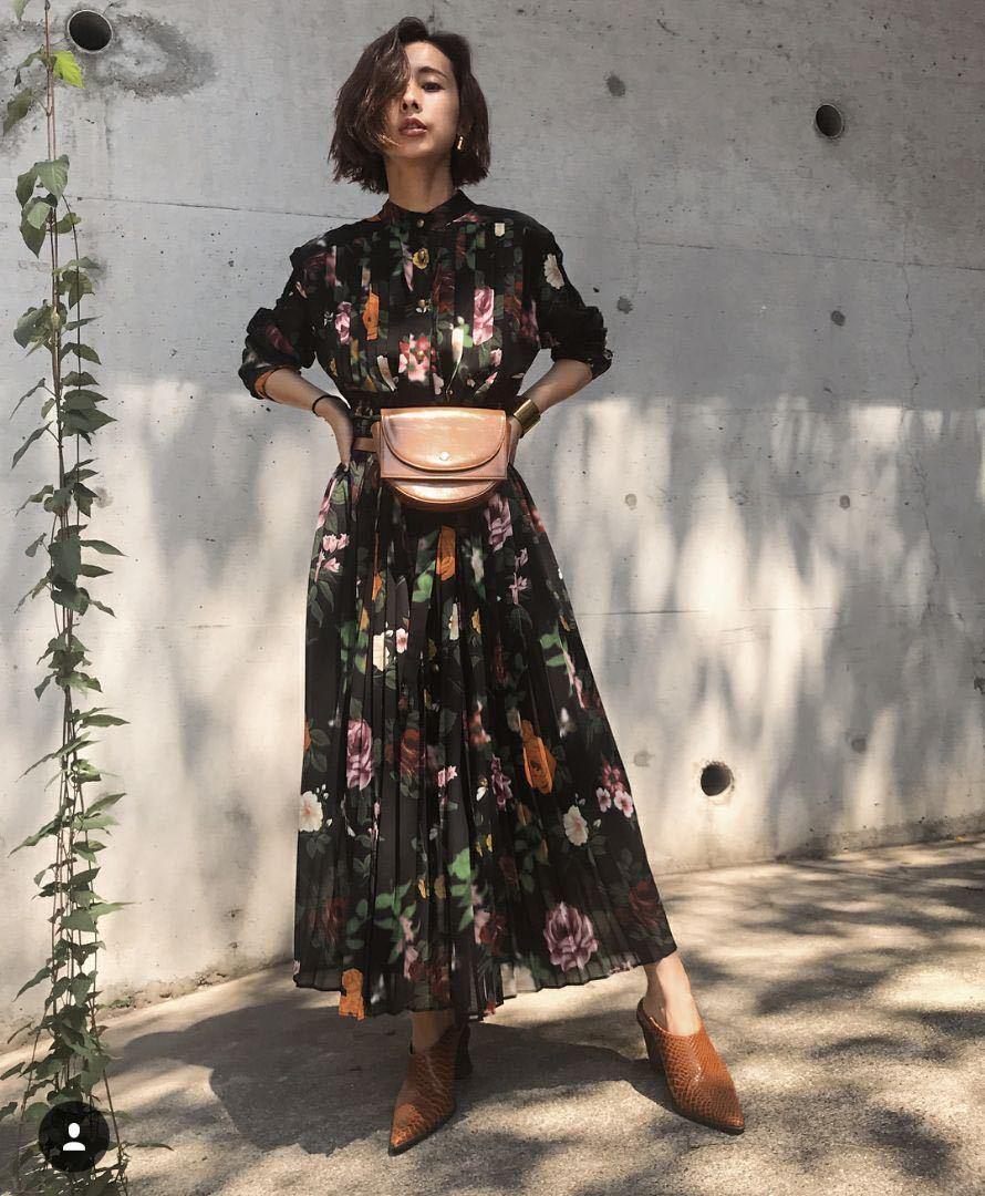 efcdeab65c2c3 アメリヴィンテー COCO FLOWER DRESS フラワードレス ワンピース Ameri VINTAGEの1番目の画像
