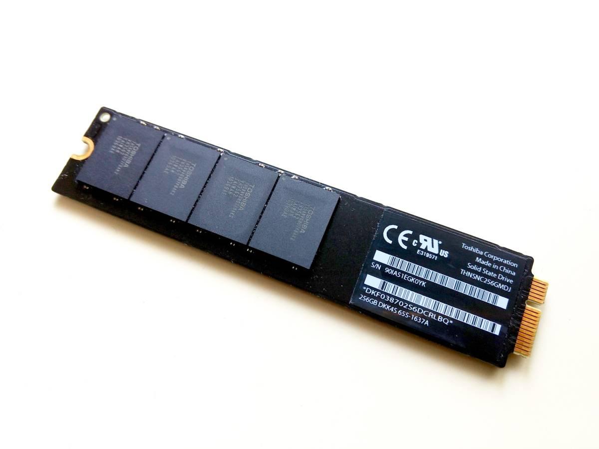 """256GB SSD Apple MacBook Air 13/"""" A1369 2010 Toshiba Drive 655-1637A"""