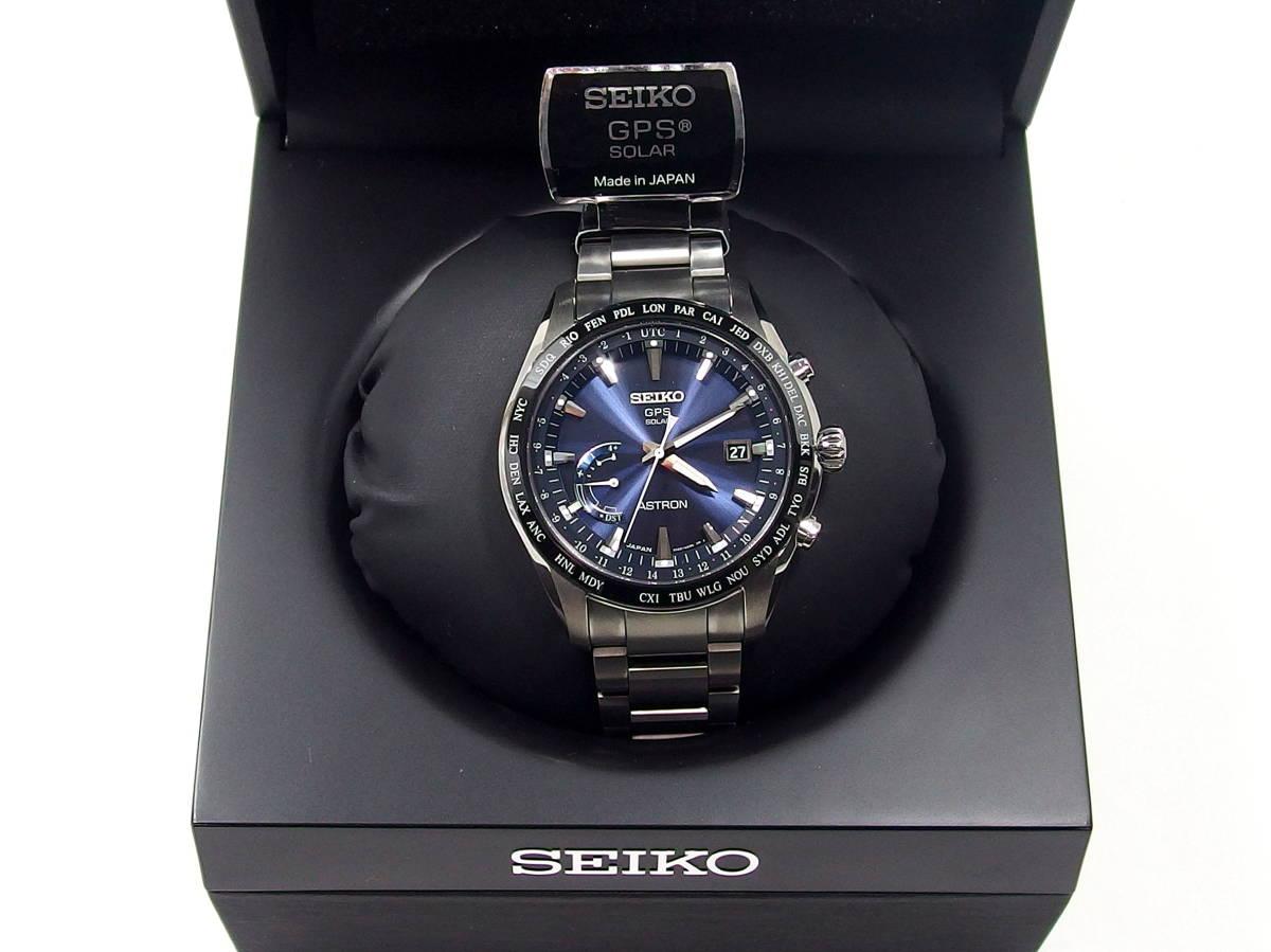 competitive price 83189 90177 新品】□未使用 SEIKO セイコー SBXB109 ASTRON アストロン GPS ...