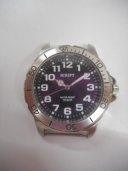 2ac679266a 【東E-574】tk SCRIPT water resist 10bar J・AXIS 腕時計 バンド