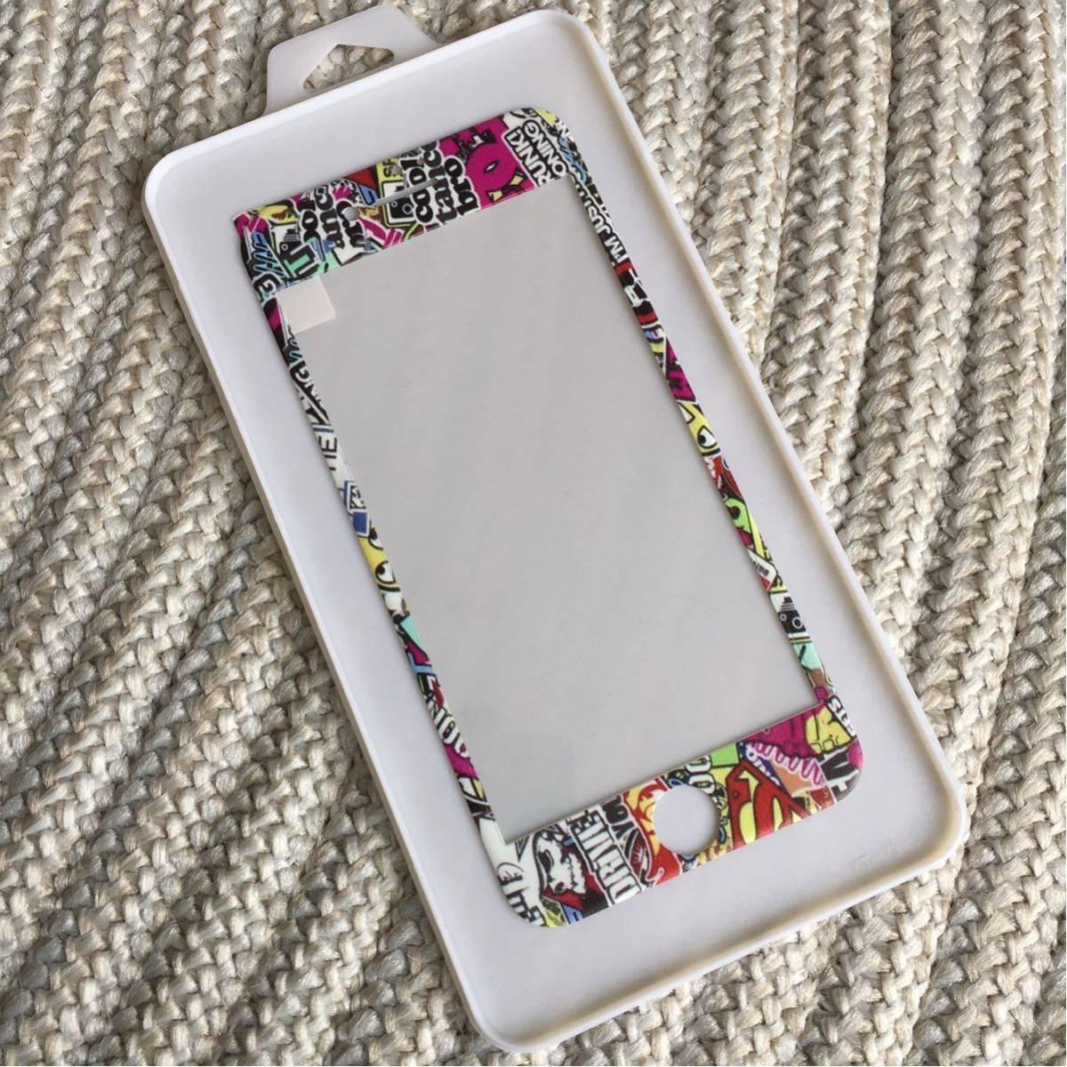 3234d714bb ガラス ボムステッカー プロテクター iPhoneケース iPhone7 iPhone8 USDM JDM ローライダー チョッパー ホットロッド  ホットウィール