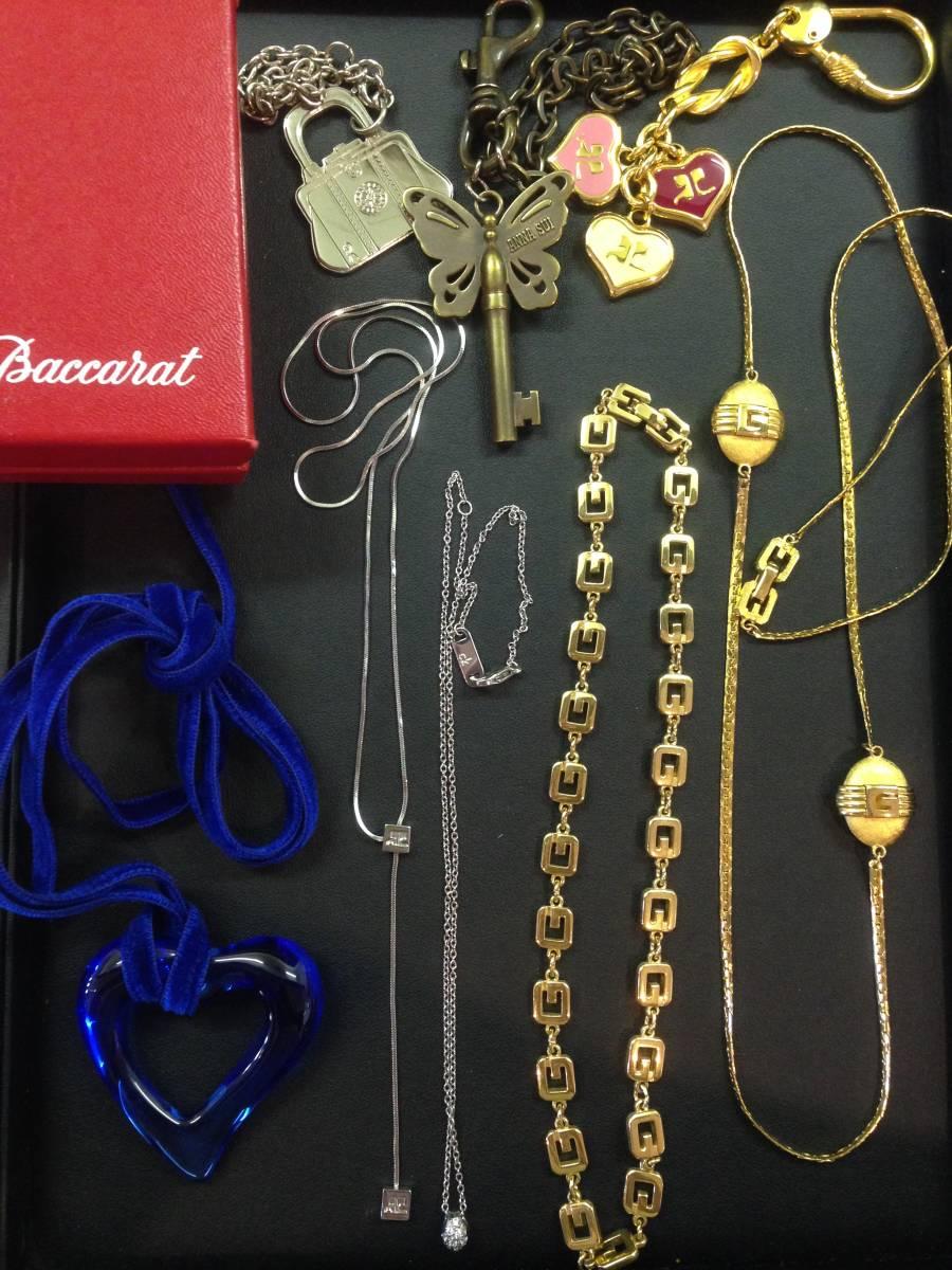 852f9251ed7e 5F05014 バカラ Baccarat チョーカー ネックレス まとめ GIVENCHY ジバンシー ゴールド クリスタル CK 他の1番目の