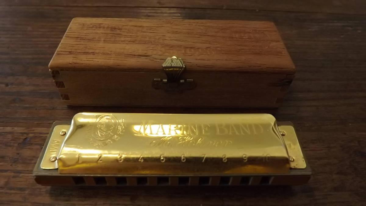 Hohner 1896//20 Marine Band Harp Harmonica Key Of C