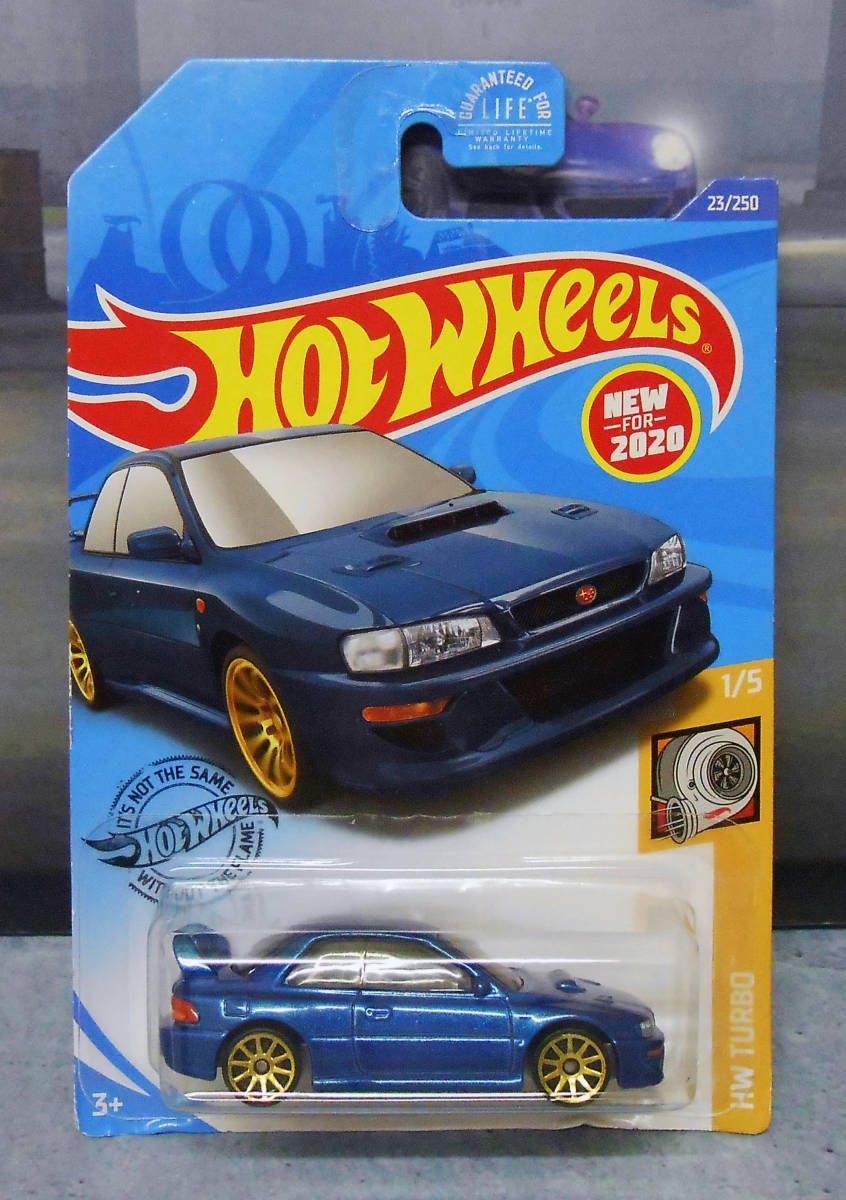 Hot Wheels 2020 SET OF 2 SUBARU IMPREZA 98 22B STi-VERSION 23//250 HW Turbo 1//5
