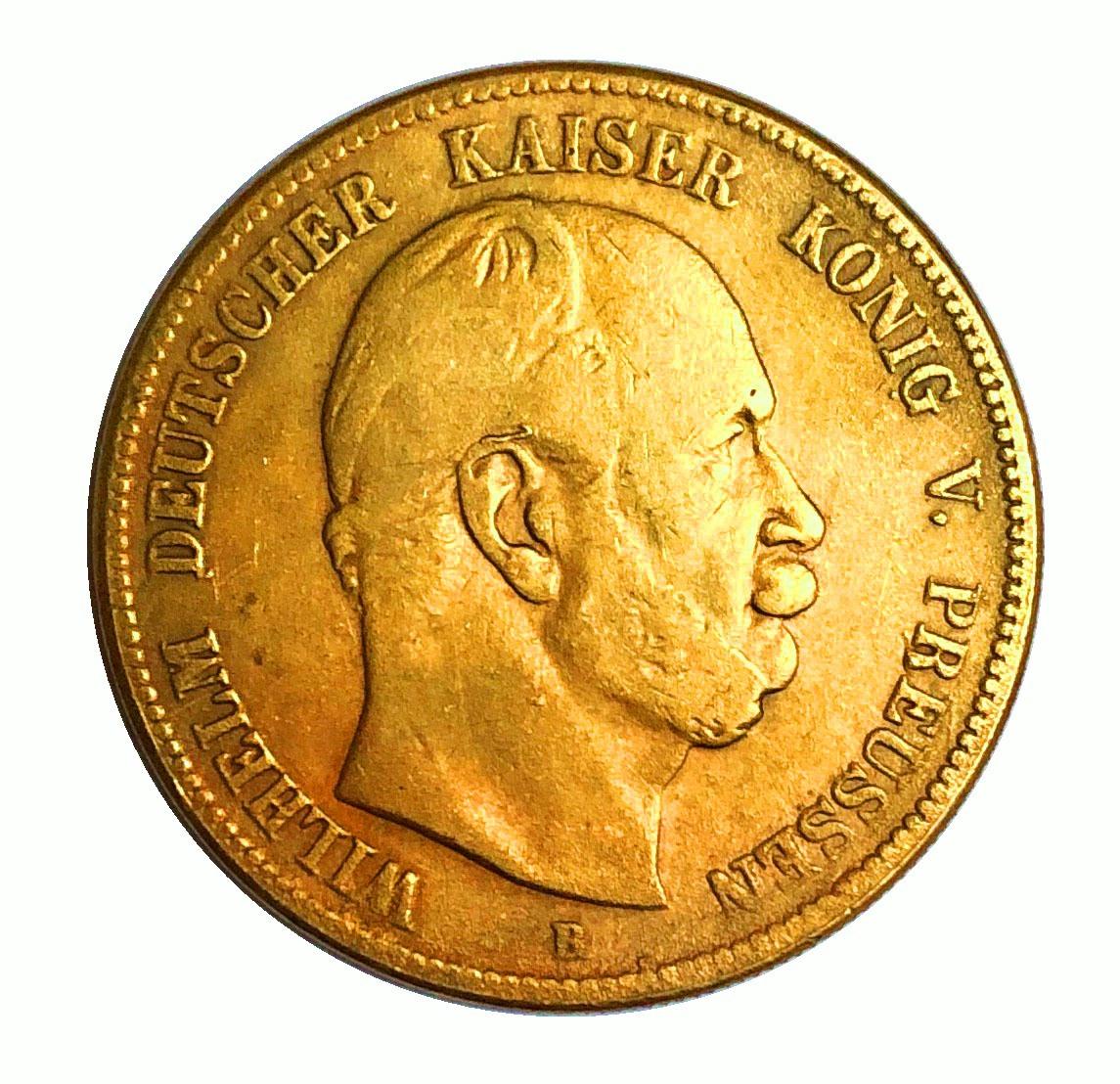大型金貨 古銭 世界コイン ドイツ帝国 ウィリアム 皇帝 1876年 37.9mm ...