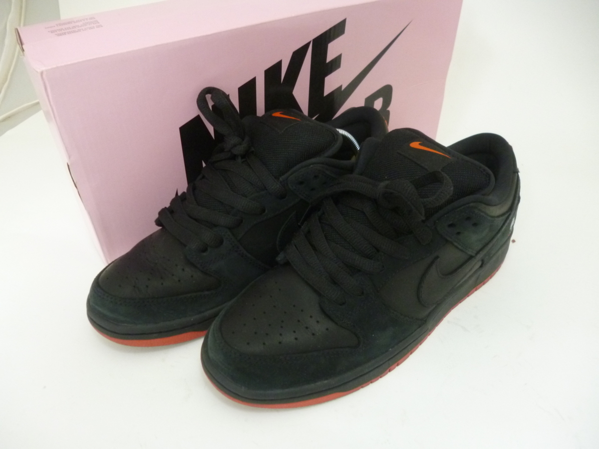 49e5d2f5b 1円~ナイキ NIKE SB DUNK LOW TRD QS STAPLE BLACK PIGEIN ピジョン 883232-