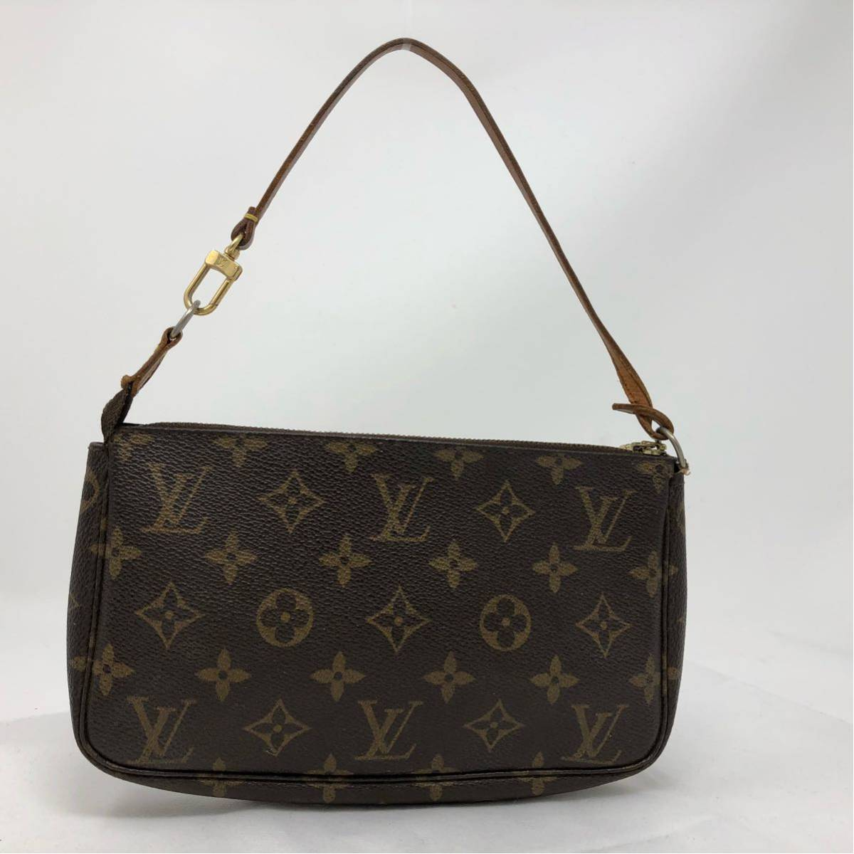 a1b930d441a8 LOUIS VUITTON ルイヴィトン モノグラム アクセサリー ポーチ バッグ 正規品の1番目 ...