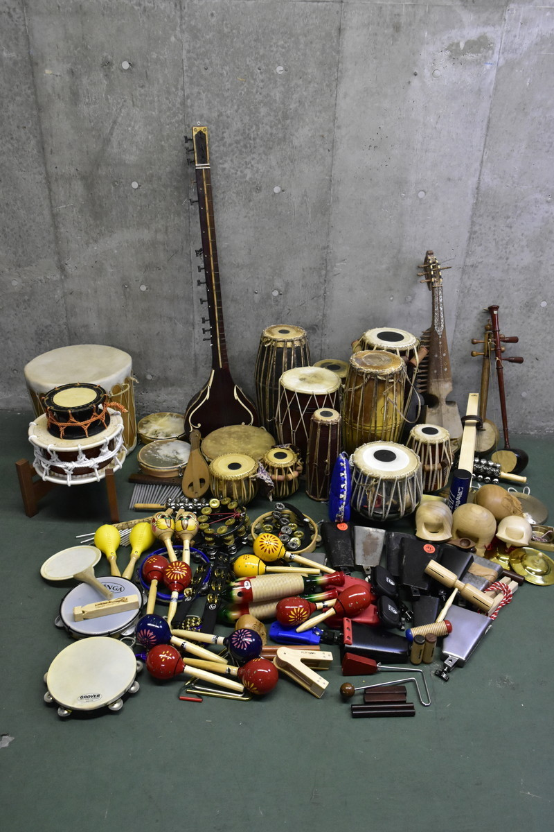 966eb2f6c3d9 中古】【引取限定】☆ 民族楽器 打楽器 パーカッション 大量 ☆【まとめ ...
