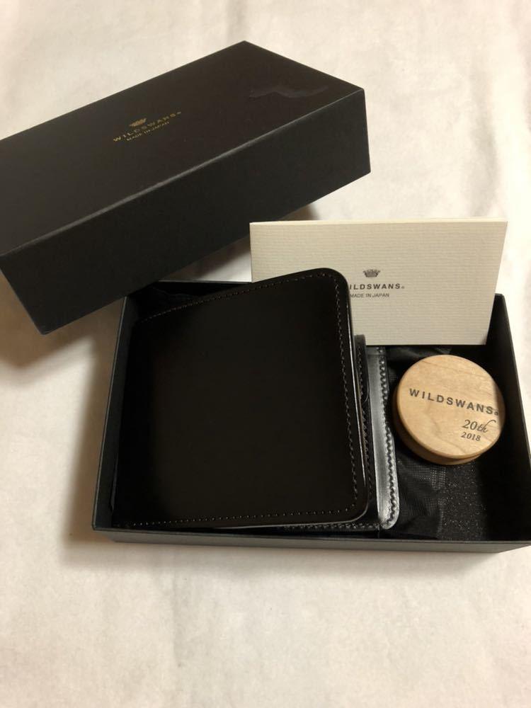 7500fb27417e 定価34,640円 美品 ワイルドスワンズ 二つ折り財布 グラウンダー サドルプルアップレザー