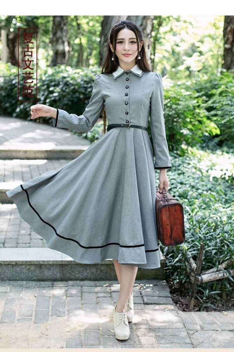 新品】レディース ファッション ワンピース ドレス イギリス風
