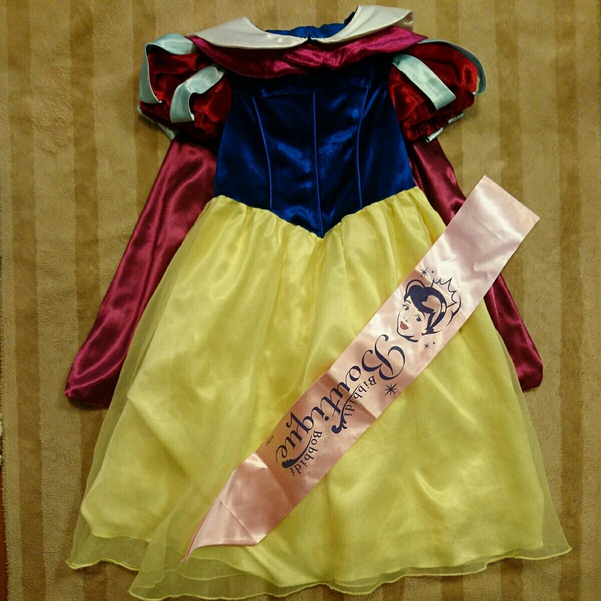 349f392b64d6c ビビディバビディブティック 白雪姫 100 ドレス 衣装 コスチューム ディズニープリンセス の1番目の画像