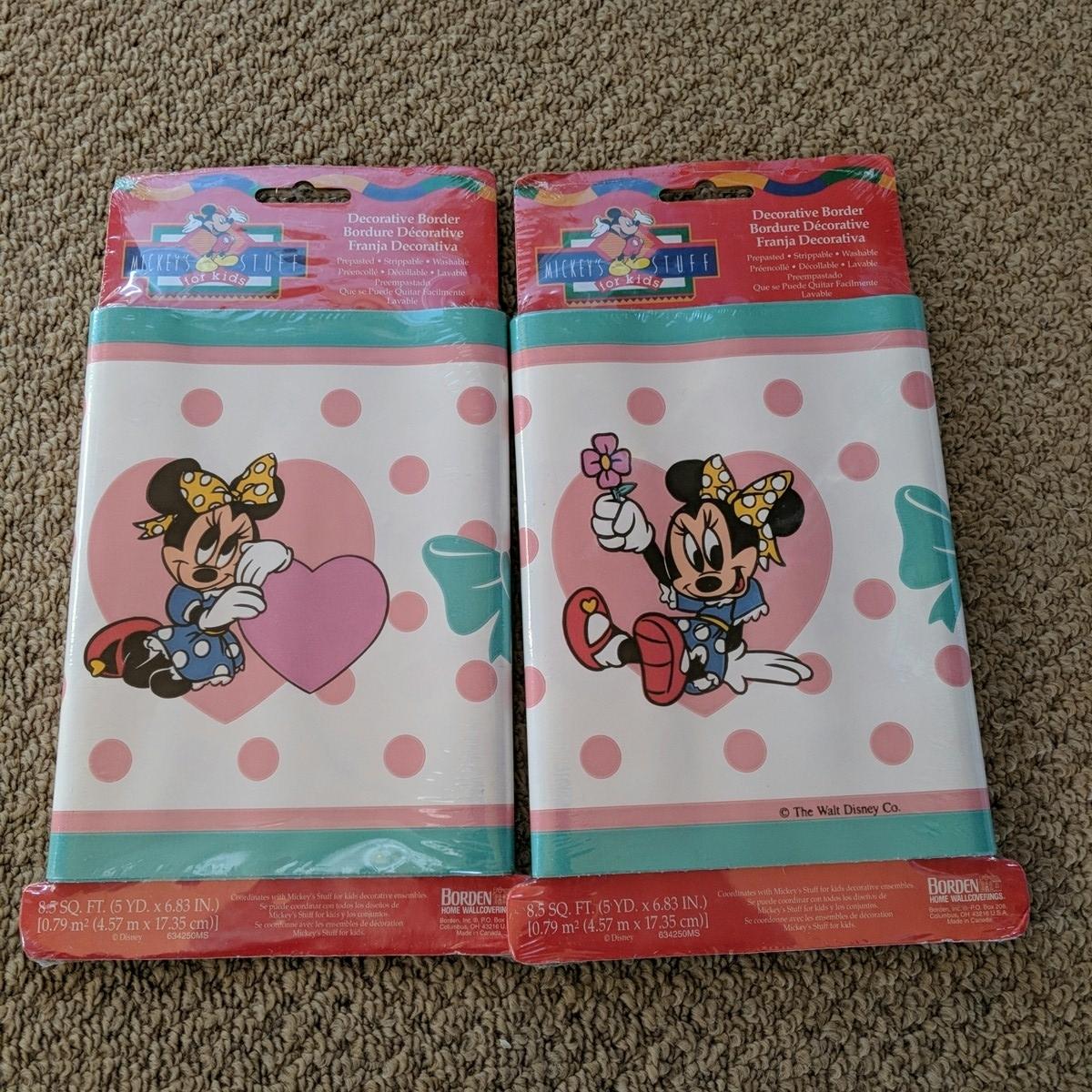 新品 アメリカ入手 未使用2set ディズニー ミニー ミニーマウス