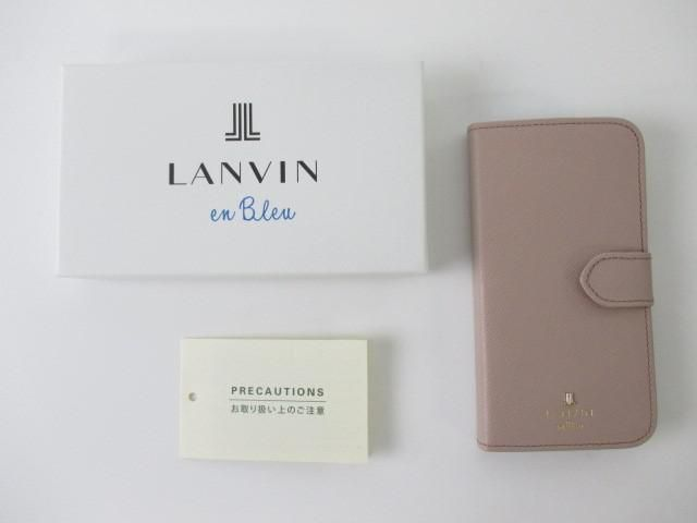 d1973d47a4 未使用 同梱可 ランバン LANVIN iPhoneケース スマホケース スマホカバー iPhone8 7 6s 6対応